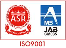 ASR JAB ISO9001
