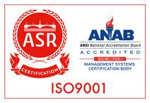 ホクデン工業株式会社ISO認証ASR JAB ISO9001